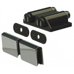 Monroe - 4FCX5 - Magnetic Non-locking Glass Door Magnetic Catch, 2-5/16H x 1-19/32