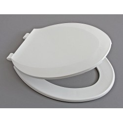 Centoco - GR1600BP8-001 - Toilet Seat, Elongated, With Cover, 18-7/8 Bolt to Seat Front