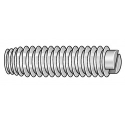 Other - 011032S050 - 1/2 Nylon Socket Set Screw with Natural Finish; PK50