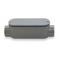 Cantex - 5133103 - Cantex 5133103 Conduit Body, Type: C, Size: 1, Material: PVC