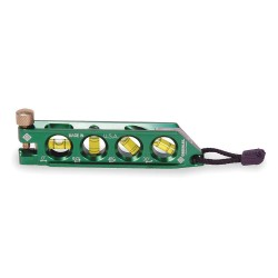 "Greenlee / Textron - L77 - Magnetic, Aluminum Torpedo Level, 5-1/2"" Length, Top Read: No"