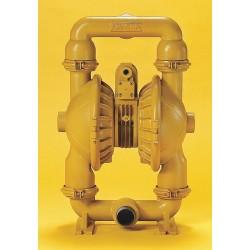 Versa-Matic / Warren Rupp - E2AA2R220C-ATEX - Aluminum Buna N Multiport Double Diaphragm Pump, 155 gpm, 125 psi
