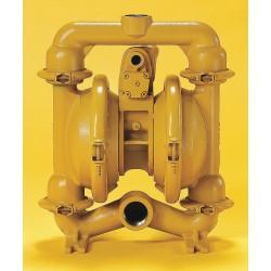 Versa-Matic / Warren Rupp - E4AA2R220 - Aluminum Buna N Multiport Double Diaphragm Pump, 70 gpm, 125 psi