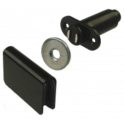 Monroe - 4GGH4 - Magnetic Non-locking Magnetic Catch, 1-3/8H x 1-7/8