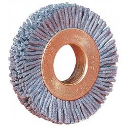 Weiler - 17543 - Arbor Hole Wire Wheel Brush, Synthetic, 2 Brush Dia.