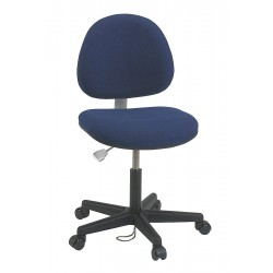 Bevco Precision - V800SHC - Fabric Ergonomic Chair with 17 to 22 Seat Height Range and 300 lb. Weight Capacity, Navy