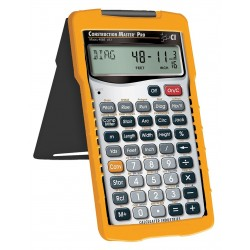 Calculated Industries - 4065 - Calculated Industries Construction Master Pro - Auto Power Off, Slide-on Hard Case - 11 Digits - Battery Powered - 5.6 x 3 x 0.6