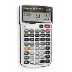 Calculated Industries - 4080 - Calculated Industries Construction Master Pro Trig - Auto Power Off, Slide-on Hard Case, Built-in Memory - Battery Powered - Battery Included - 5.7 x 3 x 0.7 x 3