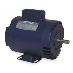 Leeson / Regal Beloit - 110396.00 - 3/4 HP 50 Hz Motor, Capacitor-Start, 1425 Nameplate RPM, 110/220 Voltage, Frame 56