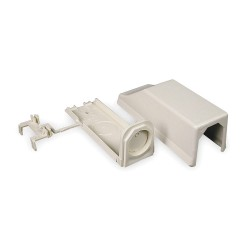Legrand Group - 810A2 - PVC Entrance End For Use With 400 and 800 Raceways, Ivory
