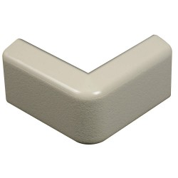 Legrand Group - 418 - Plastic 90 External Elbow For Use With 400 Raceway, Ivory