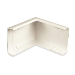 Legrand Group - 818 - PVC External Elbow For Use With 800 Raceway, Ivory