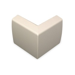 Legrand Group - 2318 - PVC External Elbow For Use With 2300 Raceway, Ivory