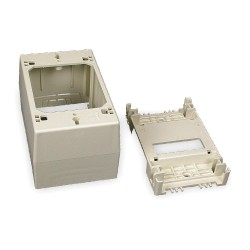 Legrand Group - 2348 - PVC Deep Device Box For Use With 400, 800 and 2300 Raceways, Ivory