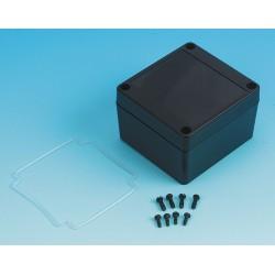 Box Enclosures - BEN-20PBK - Polycarbonate Enclosure, NEMA Rating: 4X, 3.35 x 3.16 x 2.16