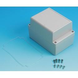 Box Enclosures - BEN-40P - Polycarbonate Enclosure, NEMA Rating: 4X, 4.92 x 3.36 x 3.36