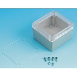 Box Enclosures - BEN-20PC - Polycarbonate Enclosure, NEMA Rating: 4X, 3.35 x 3.16 x 2.16