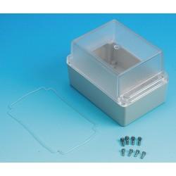 Box Enclosures - BEN-40PC - Polycarbonate Enclosure, NEMA Rating: 4X, 4.92 x 3.36 x 3.36