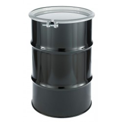 Skolnik - CQ3005 - 30 gal. Black Steel Open Head Transport Drum