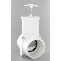 Valterra Products - 4301GR - Class 125 Slip Gate Valve, Inlet to Outlet Length: 4-1/2, Pipe Size: 3, Max. Fluid Temp.: 167F