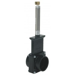 Valterra Products - 9201GR - Class 125 Slip Gate Valve, Inlet to Outlet Length: 3-1/8, Pipe Size: 2, Max. Fluid Temp.: 205F