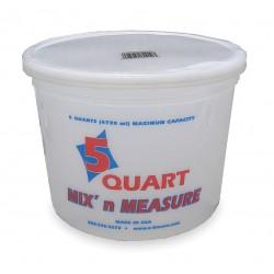 Encore Plastics - 81166 - Paint Mix And Measure Cont., 5 qt, Plastic