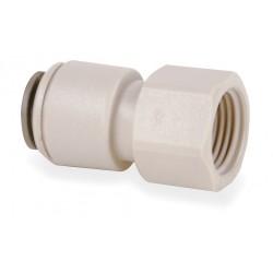 John Guest - CI-3208U7-S - Acetal Copolymer Faucet Adapter, 1/4 Tube Size
