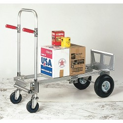 Other - 4HRG5 - Convertible Hand Truck, Continuous Frame Dual Pin, 800 lb., Overall Height 42