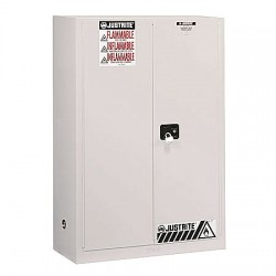 "Justrite - 896005 - 60 gal. Flammable Cabinet, 65"" x 34"" x 34"", Manual Door Type"