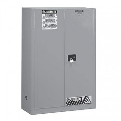 Justrite - 896023 - 60 gal. Flammable Cabinet, 65 x 34 x 34, Self-Closing Door Type