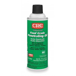 CRC - 03086 - 16 oz. Aerosol Can Food Grade Penetrating Oil, Clear