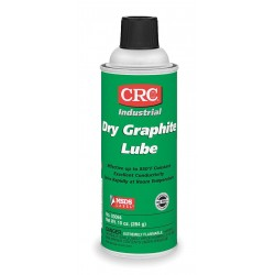 CRC - 03094 - Graphite Dry Film Lubricant, 16 oz. Container Size, 10 oz. Net Weight