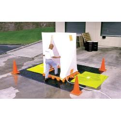 Ultratech - 6300 - Hospital Decon Deck, Orange Polyethylene, Height 52, Width 5-3/4, Length 61-1/4