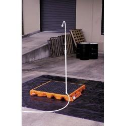 Ultratech - 6305 - Tactical Decon Deck, Orange Polyethylene, Height 52, Width 5-3/4, Length 56-5/8