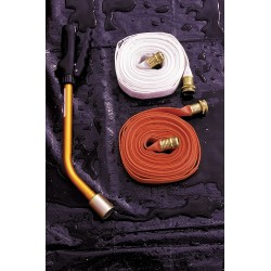 Ultratech - 6355 - Flat Supply Hose, White, For Use With Hospital or Tactical Model Decon Deck