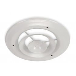 Other - 4JRK9 - Ceiling Diffuser, Round, Duct Size 8, Wht