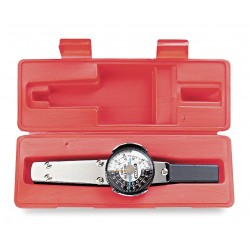 Proto - J6169FCERT - Plain-Handle Dial Torque Wrench, 1/4 Drive Size, 1 in.-lb. Primary Scale Increments, 10