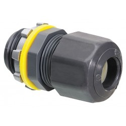 Arlington Industries - LPCG757 - Arlington LPCG757 Cord Connector, Low Profile, 3/4, Non-Metallic