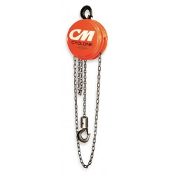 Columbus McKinnon - 4734 - Cyclone Hoist 1 Ton W/ 20ft Lift