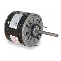 A.O. Smith - DL001 - 1/4 HP Direct Drive Blower Motor, Permanent Split Capacitor, 1075 Nameplate RPM, 115 Voltage