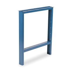 Vidmar - BL1751 - Open Leg, 3 W x 33 D x 33 in. H, Blue