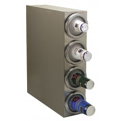 Carlisle FoodService - 38884G - Square Cabinet 18/8 Stainless Steel Cup Dispenser, Holds 8 to 48 oz. Cups