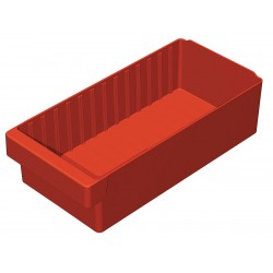 Akro-Mils / Myers Industries - 31188RED - Drawer Bin, 17-5/8 x 8-3/8 x 4-5/8 In, Red