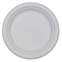 Chinet / Huhtamaki - 21226 - 6-3/4 Round Disposable Plate, White; PK1000