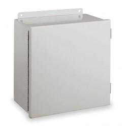 Hubbell - B060403CH - Hubbell-Wiegmann B060403CH Junction Box, NEMA 12, Hinged, Steel