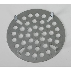 T&S Brass - 010385-45 - Flat Waste Strainer, 5/8 x 3 for T and S Waste Valves B-3940