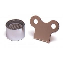 T&S Brass - B-0199-06 - Vandal Resistant, 55/64-27 FNPT Aerator, 55/64-27 Thread Size