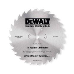 """Dewalt - DW3372 - 10"""" Steel Finishing Circular Saw Blade, Number of Teeth: 80"""