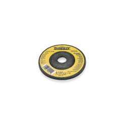 "Dewalt - DW4628 - 5"" x 1/8"" Depressed Center Wheel, Silicon Carbide, 7/8"" Arbor Size, Type 27, High Performance C24R"