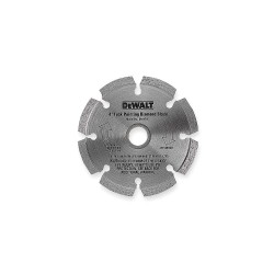 Dewalt - DW4710 - 4 Dry Diamond Saw Blade, Segmented Rim Type